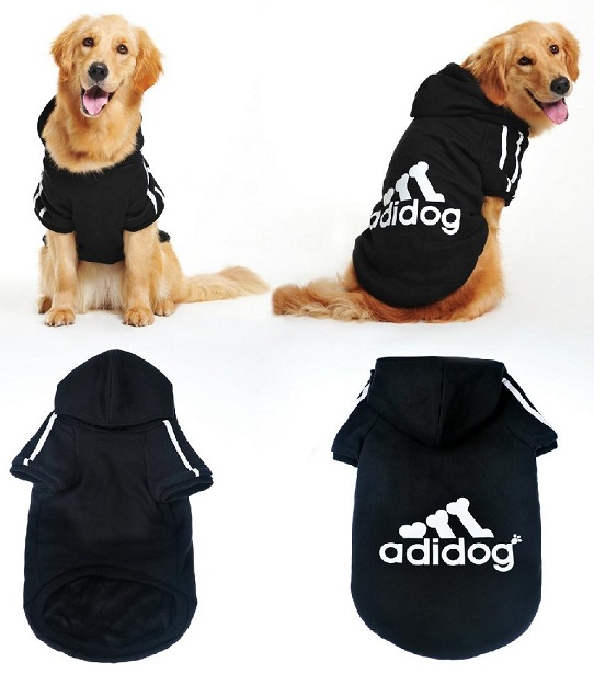 Adidog Dog Clothes For Large Dogs