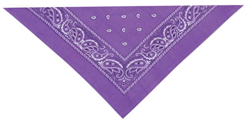Cool Puppy Purple Bandana