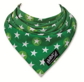 Get Dogs Dark Green Bandana