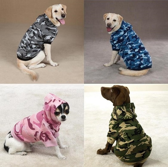 Get These Casual Camouflage Hoodie for Your Dog
