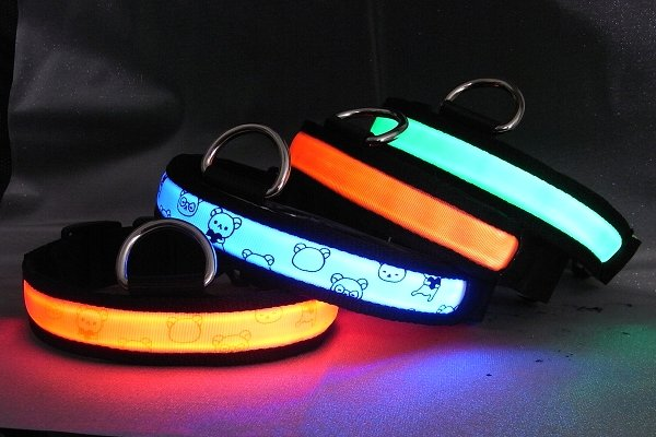 Outdoor Unique Glowing Dog Collars