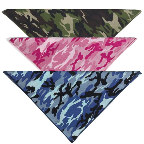 Where to Buy Pink Camouflage Bandana