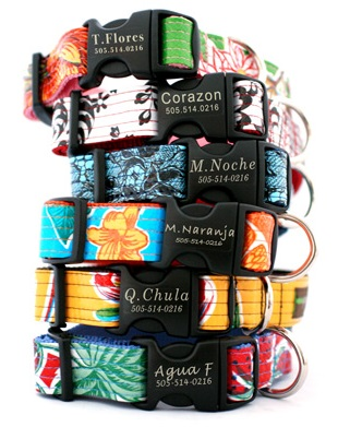 Cool Engraved Personalized Dog Collars
