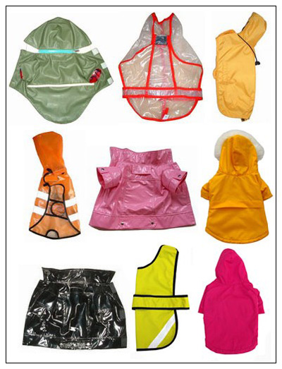 Different Types Of Dog Raincoat With Hood
