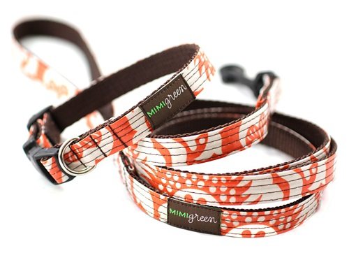 Mimi Green Cheap Dog Collars And Leashes