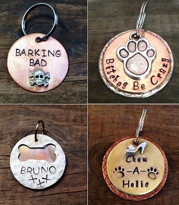 Sterling Silver Pet ID Tags